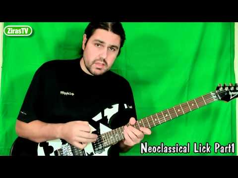 Neoclassical Lick Part 1 (Minor-Aeolian)   Lick Of The Week 101
