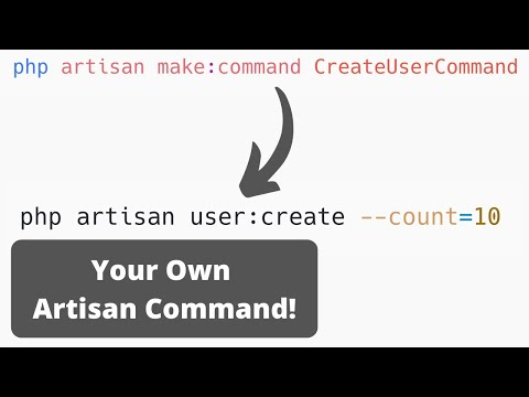 How to Create Artisan Commands in Laravel