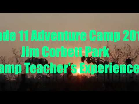 PWS Aravali  grade 11 Camps Jim Corbett ( interview video)