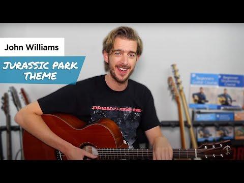 Jurassic World Theme on Guitar - John Williams (Jurassic Park Theme / Fallen Kingdom)