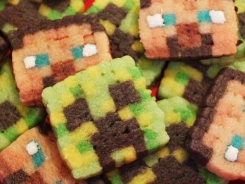 Creeper Face Cakes