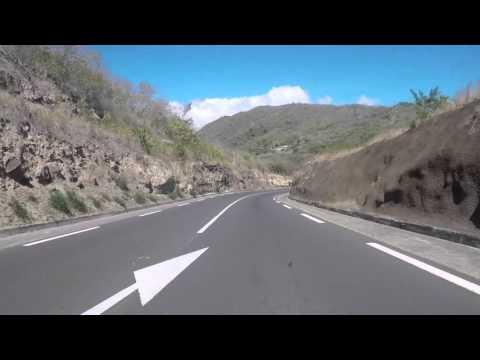 Martinique Route vers Fort de France Partie 1, Gopro / Martinique Road to Fort de France Part 1