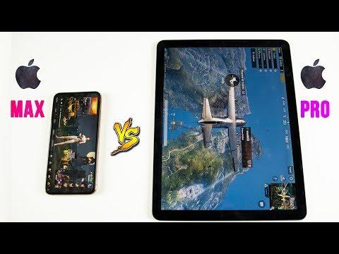 2018 IPad Pro Vs IPhone XS Max SPEED Test - INSANE Performance!