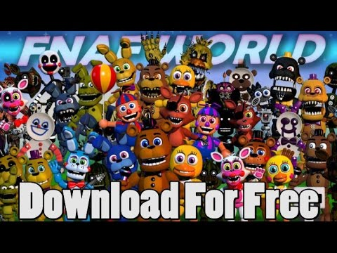 How To Download FNaF World Free (Not Pirated)