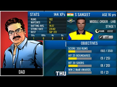 Angry Dad - Under 19 My Cricket Career World cricket battle aNdroid / Ios live Stream