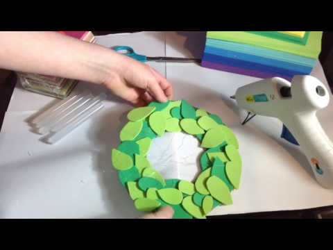 How to make a Valentine&39;s Day wreath  Valentine&39;s decoration Crafty Creations