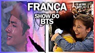 VIAJANDO PRA FRANÇA #3 Finalmente o vlog no SHOW DO BTS