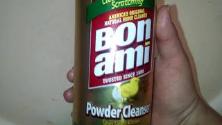 Bon Ami - Review &amp Demo NATURAL Powder Cleanser!