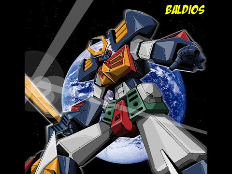 Space Warrior Baldios Quick Toy Review Space Warrior Baldios GNU DOU Anime Figure YouTube