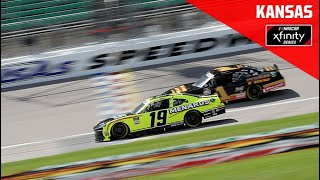 Kansas Lottery 250 from Kansas Speedway   NASCAR Xfinity Series Full Race Replay