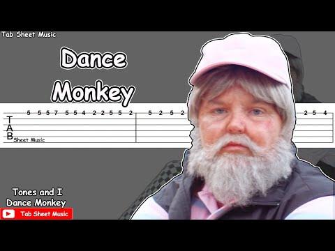 Tones And I - Dance Monkey Guitar Tutorial