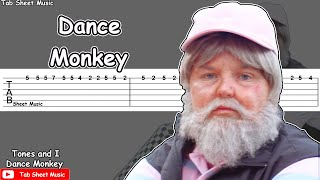 Baixar Tones And I - Dance Monkey Guitar Tutorial
