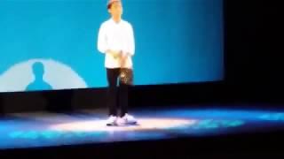 2017/7/9 (14才) カラオケの大会で歌いました。 声が出ず失敗もしてしま...