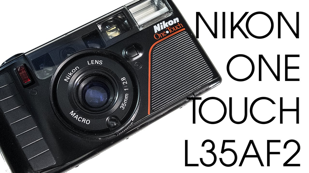 nikon one touch l35af2 35mm film vintage retro camera youtube rh youtube com Nikon D3100 Reference Manual nikon one touch l35af2 manual
