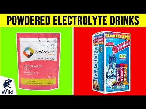10 Best Powdered Electrolyte Drinks 2019