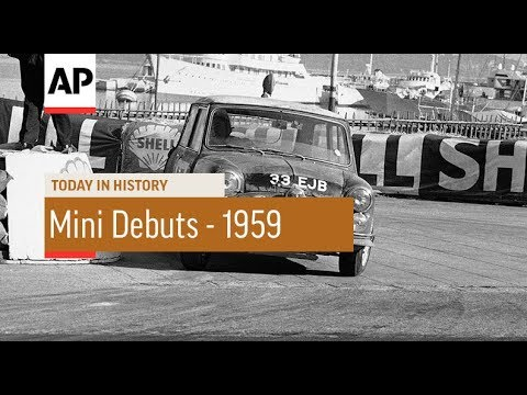 Mini Debuts  1959   Today In History  26 Aug 17