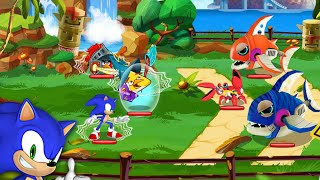 Angry Birds Epic feat Sonic Android İos Free Game GAMEPLAY VİDEO
