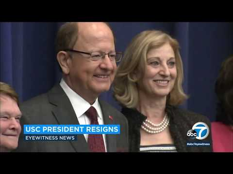 USC president stepping down amid gynecologist scandal | ABC7