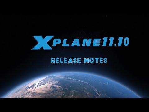 Análisis X-Plane 11.10 Release Notes