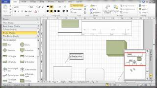 Visio 2010 - Part 6 - Document control toolbar
