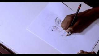 Whitney Houston Tribute - Speed drawing  Charcoal  Endy Cee
