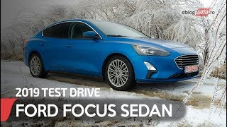 2019 FORD FOCUS SEDAN | TEST DRIVE eblogAUTO