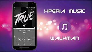 Reproductor de Musica SONY para cualquier dispositivo Android Resimi