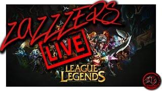 """ZAZZERS - """"League of Legends"""" PROVIAMO RIVEN"""