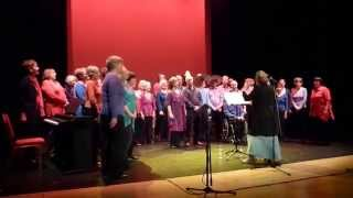 Adios Hermanos performed by Move on Up, Pershore Community Choir
