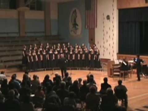 Riley County High School Men's and Women's Choir Fall 2008