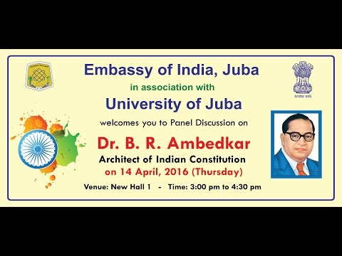 Celebration of 125th Anniversary of Dr. B. R. Ambedkar in South Sudan