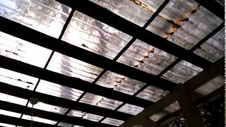 видео Волновой профнастил (волна) СВ 18 – стальной листовой профиль, тип С, высота 18мм, цена, вес, размеры и другие характеристики кровельного материала.