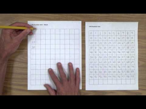Teach Your Child Number Writing 0-99