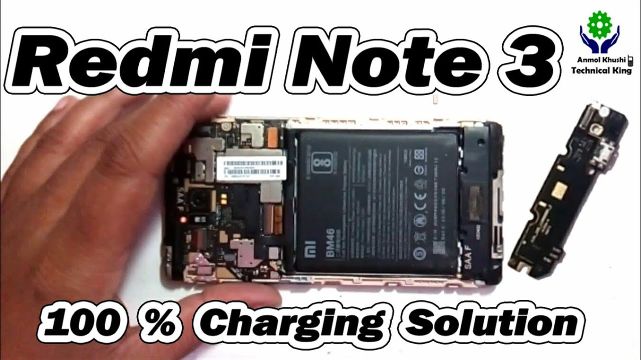Redmi Note 3 100% charging solution