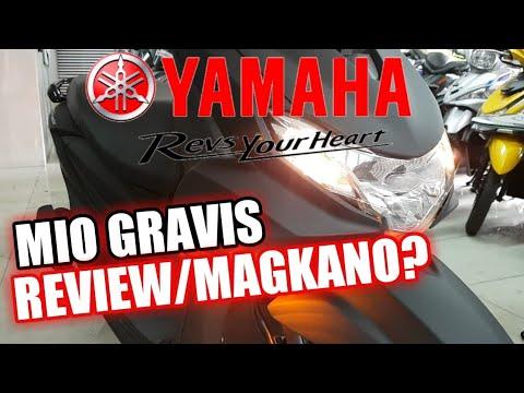 YAMAHA MIO GRAVIS REVIEW SPECS MAGKANO