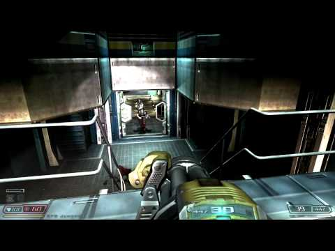 Doom 3 walkthrough - Alpha Labs - Sector 4