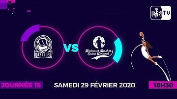 Journée 15 : Lattes Montpellier - Saint-Amand