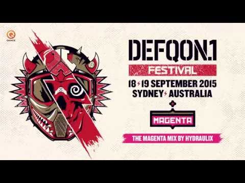 Defqon.1 Australia 2015 | MAGENTA mix by Hydraulix
