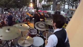 Carlos Franquiz - MD & The Night Train Band (Drum Cam)