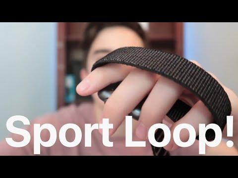 New Apple Watch Sport Loop Unboxing