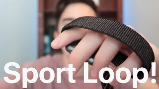 New Apple Watch Sport Loop Unboxing