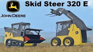 vuclip Farming Simulator 15 Presentazione John Deere Skid Steer 320 E