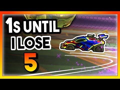 INSANE 360 Powerslide Fake | 1's Until I Lose Ep. 5 | Rocket League thumbnail