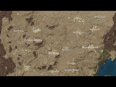 WELCOME TO DESERT NEW PUBG MAP    YouTube WELCOME TO DESERT NEW PUBG MAP