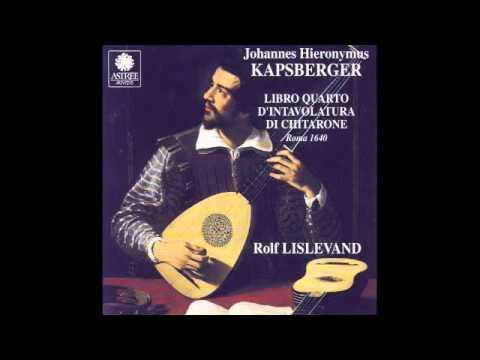 Kapsberger - Ciaccona