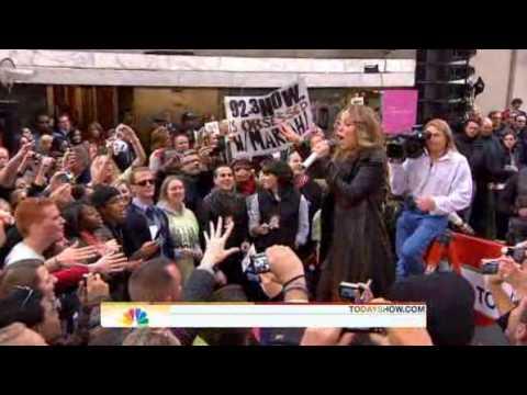 Mariah Carey - Make It Happen ( Live Today Show 10/02/2009 )