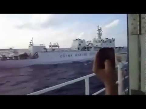 Vietnam Coast Guard Ship Hit China Marine Surveillance Vessels