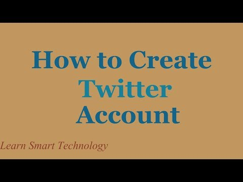 How To Create A Twitter Account | How To Make A Twitter Account | How To Open A Twitter Account