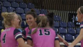 UNC Volleyball wins in 4 sets over conference opponent Idaho