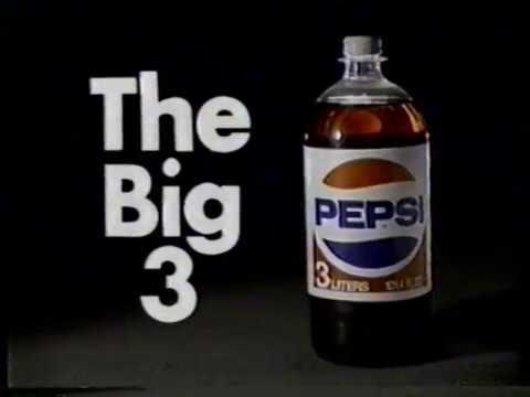 Liter Glass Pepsi Bottle